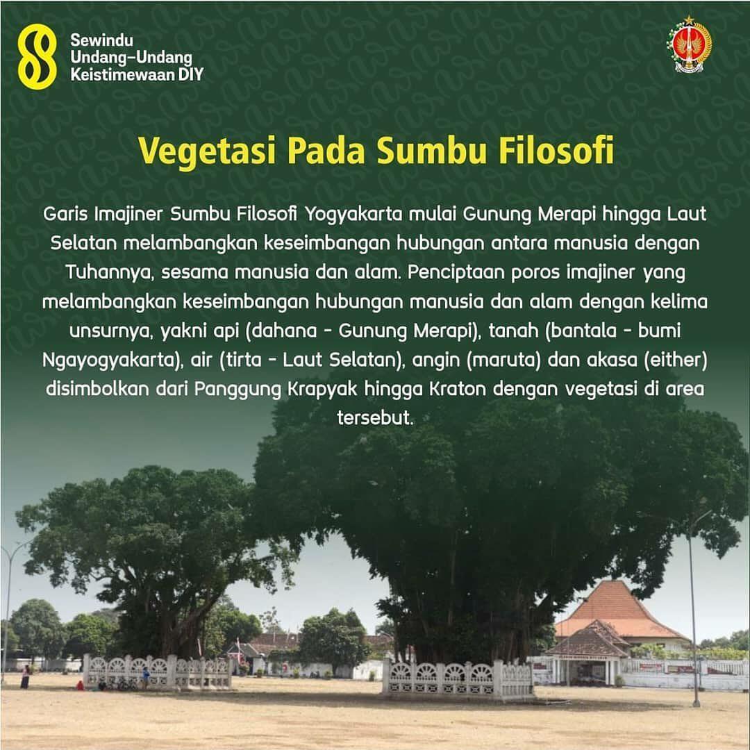 Vegetasi Pada Sumbu Filosofi Yogyakarta