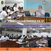 Pembahasan Raperda Revisi Rencana Tata Ruang Wilayah Kota Yogyakarta bersama Pansus  DPRD Kota Yogyakarta